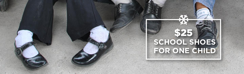 Give Christmas – Shoes