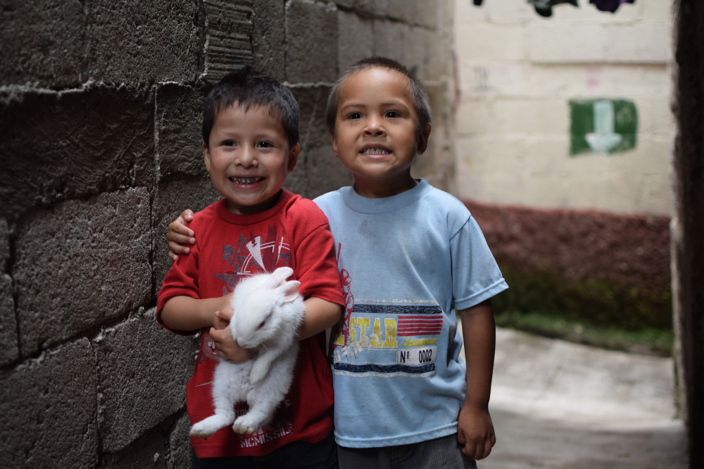 Friends in La Limonada