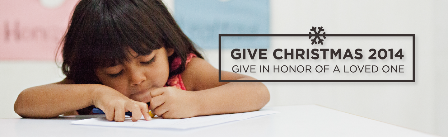 Give Christmas  – Gifts In Honor Of