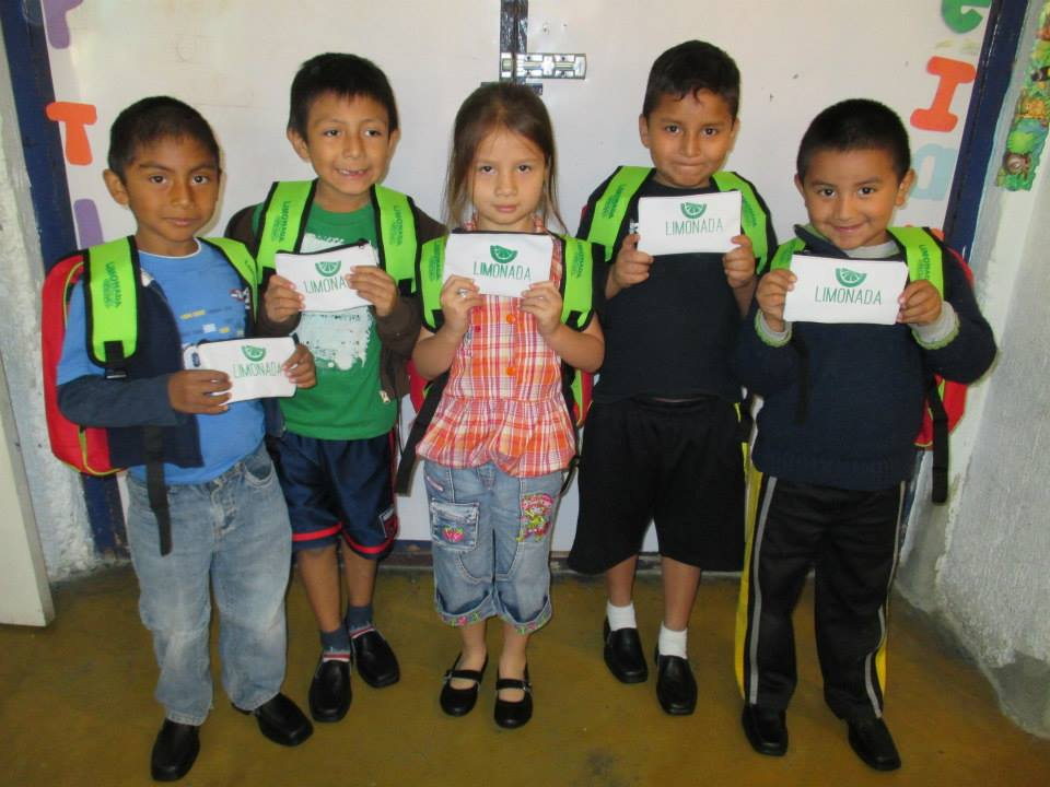 Give School Supplies   Lemonade International