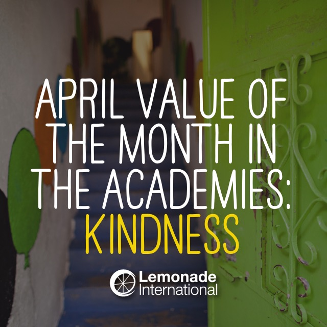 April Value of the Month in the Academies | Lemonade International