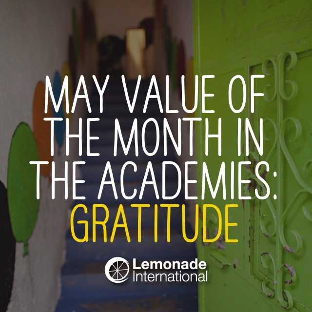 May Value of the Month
