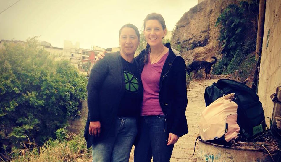 Sarah and Janina