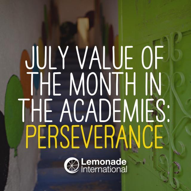Value of the Month | Lemonade International