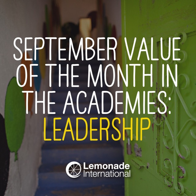 September Value of the Month | Lemonade International