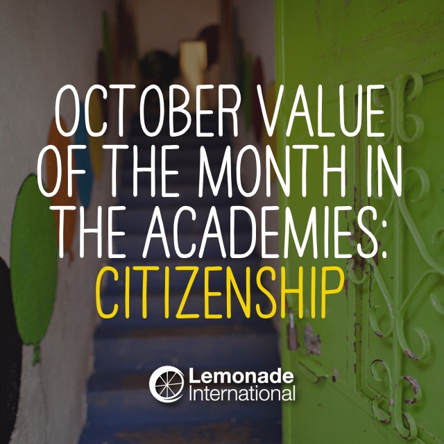 October Value of the Month | Lemonade International