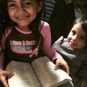 Reading in La Limonada
