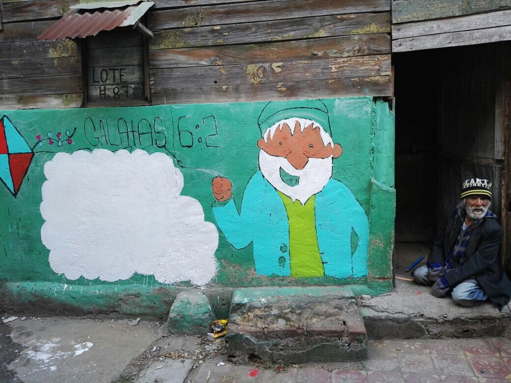 A Mural for Don German